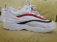 Кроссовки Fila Ray White Red Black 0