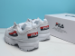 Кроссовки Fila Disruptor II White Red Black 0