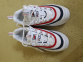 Кроссовки Fila Ray White Red Black 2