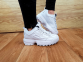 Кроссовки Fila Disruptor II All White 2