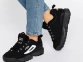Кроссовки Fila Disruptor II Black White 2