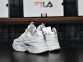 Кроссовки Fila Ray White Hologram 3