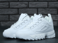 Кроссовки Fila Disruptor II All White 0
