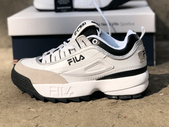 Кроссовки Fila Disruptor 2 Black Grey White