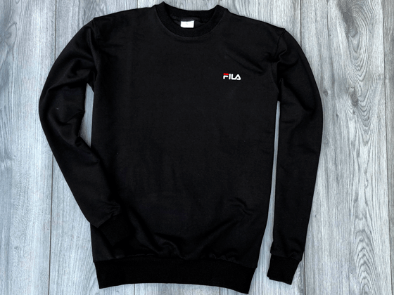 Свитшот Fila Big Sign Black (252SK4412U)