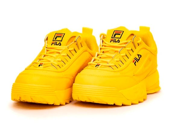 Кроссовки Fila Disruptor 2 Full Yellow