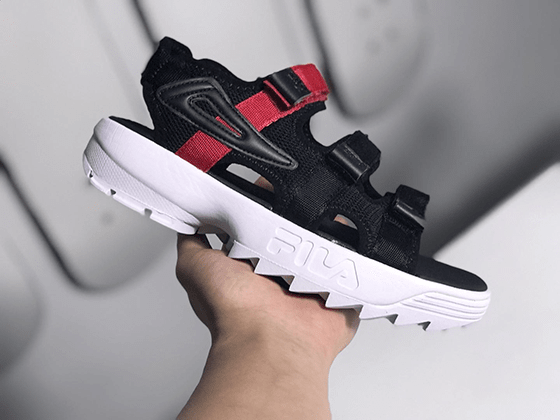 Сандали Fila Black Red