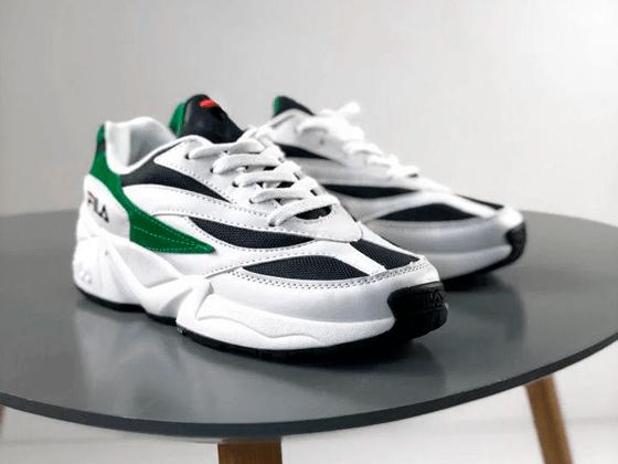 Кроссовки Fila Venom White Green Black