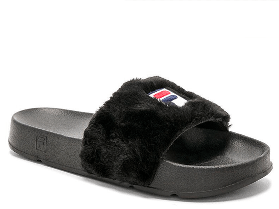 Шлёпанцы Fila Fur Black
