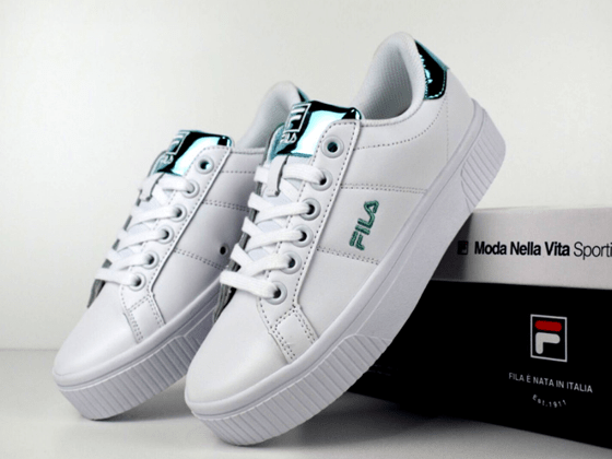 Кеды Fila Fusion White Light Blue