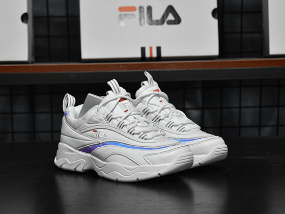 Кроссовки Fila Ray White Hologram