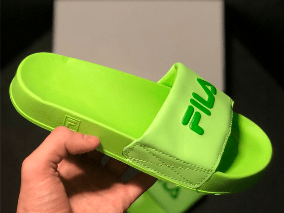 Шлёпанцы Fila Green