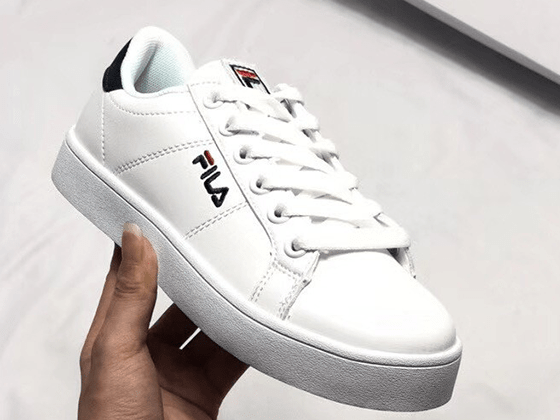 Кеды Fila Tennis Court Deluxe White Black