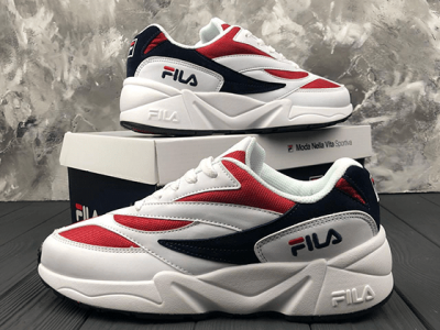 Кроссовки Fila Venom 94 Low White Red