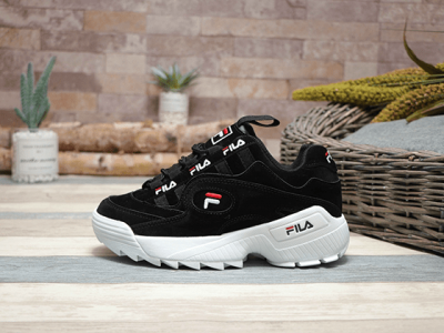 Кроссовки Fila Disruptor RJ Mind Black White
