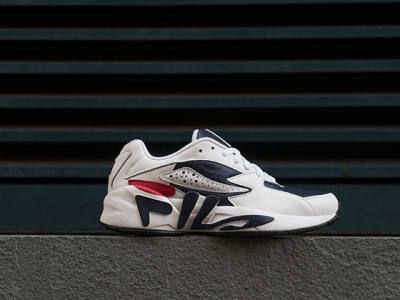 Кроссовки Fila Mindblower White Red Navy