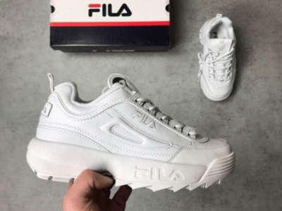 Кроссовки Fila Disruptor II All White
