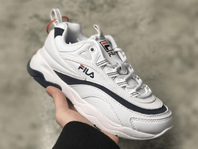 Кроссовки Folder X Fila Ray White Black