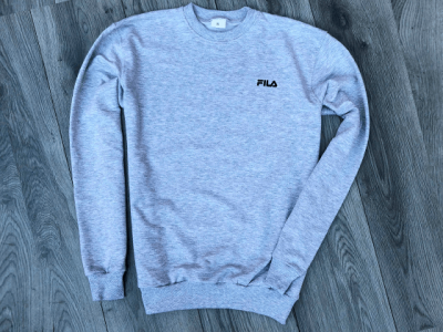 Свитшот Fila Big Sign Grey (252SK4413U)