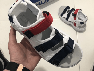 Сандали Fila White Red Blue