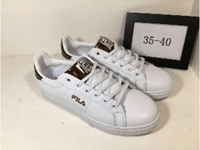 Кеды Fila Tennis White Gold