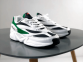 Кроссовки Fila Venom White Green Black