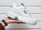Кроссовки Fila Disruptor Low White