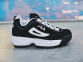 Кроссовки Fila Disruptor II Black White Pack